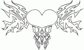 Small Picture Difficult Heart Coloring Pages Coloring Coloring Pages