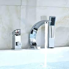 bathtub faucet with sprayer hand handheld spray