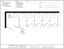 Restroom Partitions HarborCitySupply - Bathroom toilet partitions