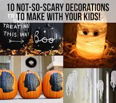 Cute Halloween decorations for kids