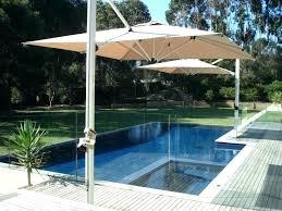 rectangular cantilever umbrella deck rectangular cantilever patio umbrellas uk