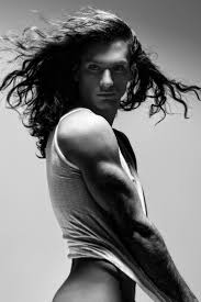 306 best images about male models with long hair on Pinterest.
