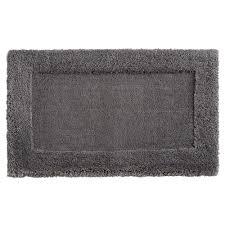 mohawk dynasty 20 in x 34 in micro denier polyester bath mat in pewter