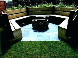 fire pit seating area ideas outdoor dazzling size dazzl