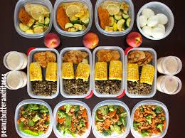 Planned Meals For A Week Meal Prep Week Of May 18th Peanut Butter And Fitness