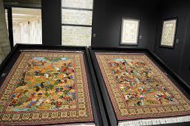 millennia old azerbaijani carpet