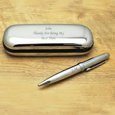 office gifts for dad. Fathers Day Gifts For Dads Office Silver Engraved Pen And Personalised Gift Box Depot Dad