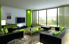 modern small living room green curtains for modern small living room with black sofa and contemporary table lamp small modern living room ideas