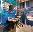 Дизайн ванн в морском стиле