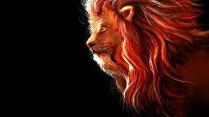Lion Art Wallpapers on WallpaperDog