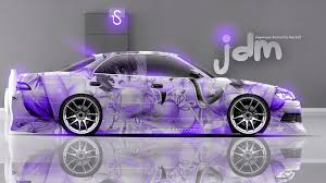 toyota mark2 jzx90 jdm anime aerography home car