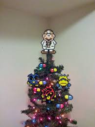 Geek Up Your Holidays With These 10 Nerdy DIY Christmas Tree Super Mario Christmas Tree