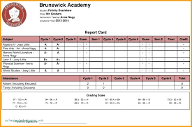 Student Report Card Template Report Card Format Template Wsopfreechips Co