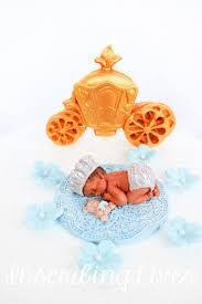 Blue Prince Baby Shower Cake Topper Boy 15pcs Fondant Baby Cake