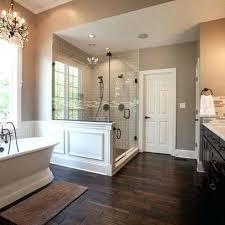 white wood tile bathroom. Simple Wood Wood Floor In Bathroom Best Dark Ideas On Bathrooms White  Tile And L