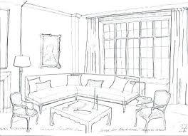 interior design living room drawings. Brilliant Drawings Living Room Draw In Interior Design Living Room Drawings