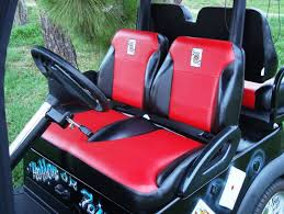 shown above with optional cart buddy armrest covers sold separately