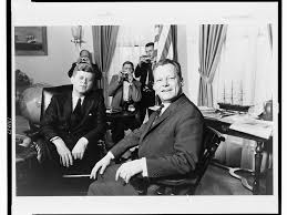 Jfk in oval office Baby President John F Kennedy Sits In The Oval Office With West Berlins Mayor Willy Brandt In 1961 The Berlin Wall Would Be Erected Only Few Months Later Smithsonian Magazine Where The Myth Of Jfks jelly Donut Mistake Came From Smart News