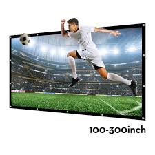 300 inches16 9 projector screen large outdoor portable s screen canvas