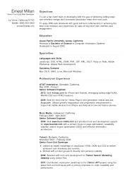 Senior Front End Web Developer Resume Sample Featuring Specialties