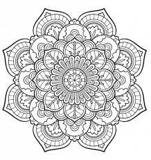 Mandala Da Stampare E Colorare Colorare