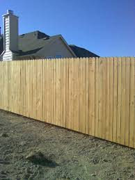 12 Side by Side White Wood Fence Fences Decks by T Campbell