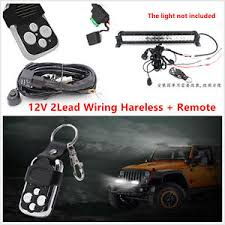 remote control flash strobe wiring harness kit switch relay led car 350 Chevy Wiring Harness image is loading remote control flash strobe wiring harness kit switch