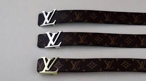 Louis Vuitton Belt Size Chart Men How To Spot A Fake Louis Vuitton Belt Real Vs Replica Lv Belt Review Guide