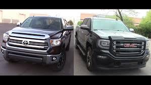 2016 Toyota Tundra 1794 4x4 & GMC Sierra 4x4 - YouTube