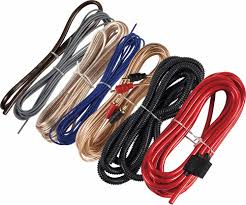 multi amp wiring kit solidfonts kicker pkd1 1 0 gauge multi amp power wiring kit system diagram
