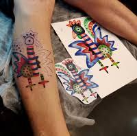 2017 Tetování Kohout Rudolf Brančovský