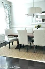 rug under dining room table carpet under dining table best best rug under dining room table