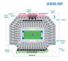 Extraordinary Ford Field Virtual Seating Chart Concert Heinz
