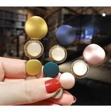 <b>M MISM Korean</b> Fashion Full Crystal Rhinestone Shiny Oval BB ...