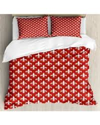 bedding with fleur de lis pattern. Plain Bedding Fleur De Lis Queen Size Duvet Cover Set Ancient Heraldic Pattern With  Abstract Floral Elements Intended Bedding With G