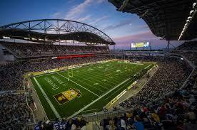 Investors Group Field In Winnipeg Manitoba Go Bombers Go