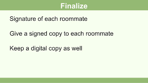 Roommate Agreement Contracts How To Draft A Roommate Agreement 13 Steps With Pictures