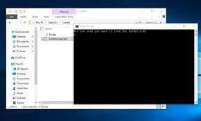 Cara Mengunci Semua Jenis File di Laptop Windows 10 Tanpa Aplikasi