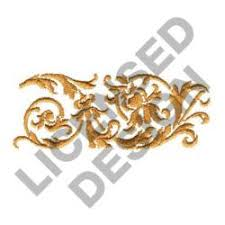 Scroll Border Designs Leaf Scroll Border Embroidery Design
