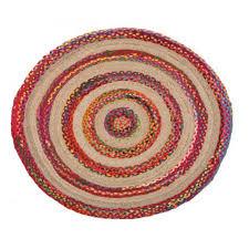 round floor area rugs target cotton and jute natural fiber multi agra
