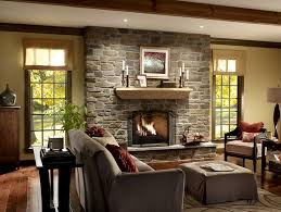 Interior Traditional Best Fireplace Wall Designs