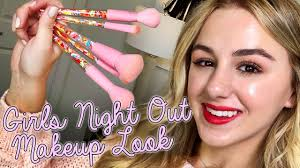 s night out makeup tutorial chloe lukasiak