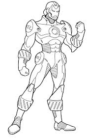 Small Picture Iron Man Coloring Pages Free Printable Super Heroes Coloring