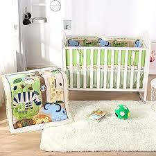 wowelife animal baby crib bedding sets
