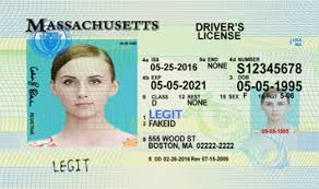 Massachusetts Ids Scannable Cards Id Fake Legitfakeid