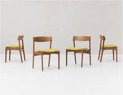 leather dining chairs minimalist chair luxury 4 dining chairs by erik buck for o d mobler denmark