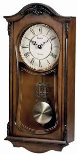 bulova c3542 cranbrook ii pendulum wall clock