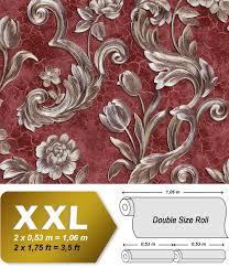 Bloemen Behang Edem 9013 35 Vliesbehang Hardvinyl Warmdruk In Reliëf