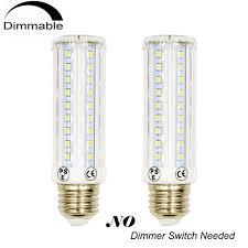 3 way t10 tubular led light bulb 120v um e26 base 10 5 2 5w led