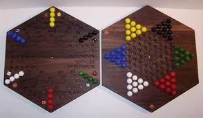 Beautiful Wooden Marble Aggravation Game Board Wooden Marble 100Sided Game Board Aggravation Chinese Checkers 100 Hexa 50